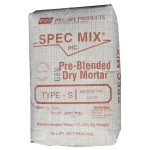 Tan Mortar Mix