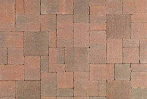 Castle Cobble I & II   Cream/Terra Cotta/Brown