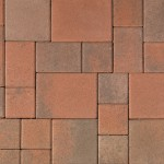 Courtyard Stone   Cream/Terracotta/Brown