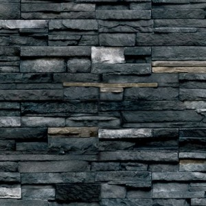 Pro-Fit Alpine Ledgestone-Black Rundle