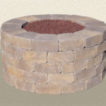 Rustic Wall Stone Fire Ring