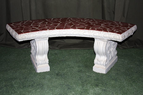 Traditional Round Bench
