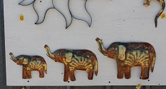 Metal Elephants